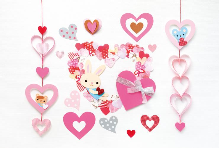 ハートがいっぱいバレンタイン