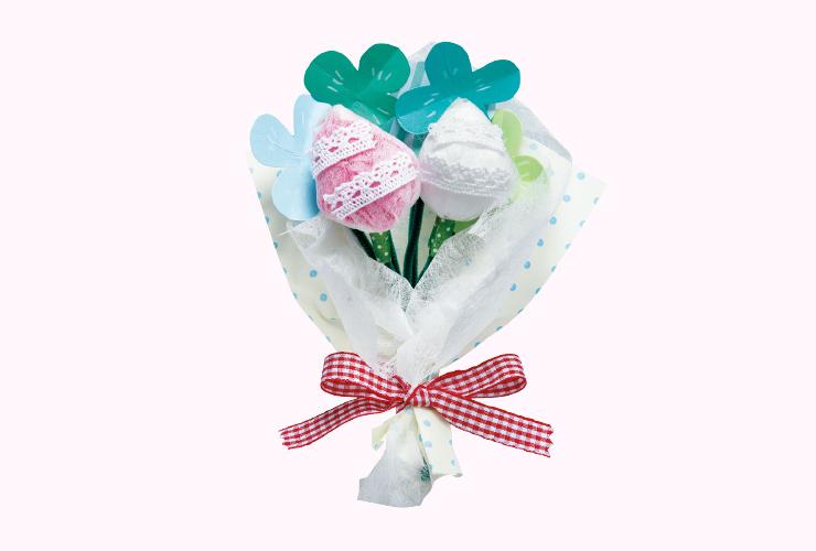 新入園児へのプレゼント「ブーケのお花」