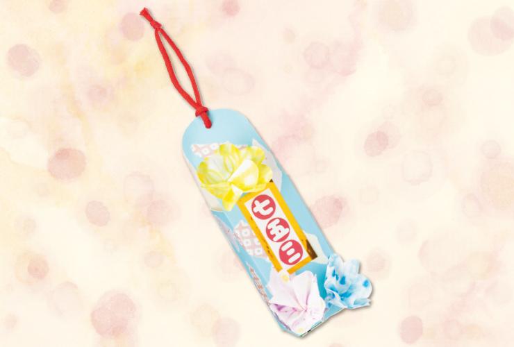 お花の立体飴袋