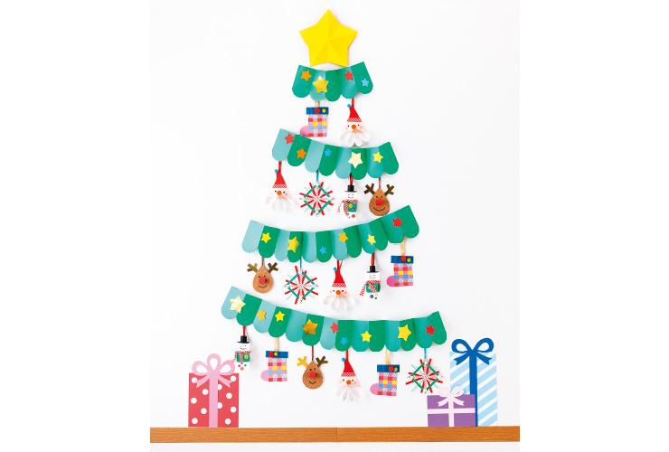 じゃばらツリーのクリスマス飾り