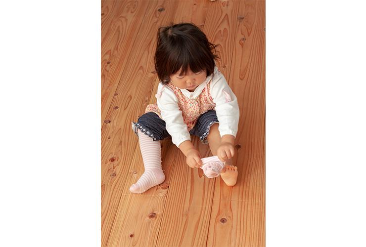 0~1歳児の衣類の着脱