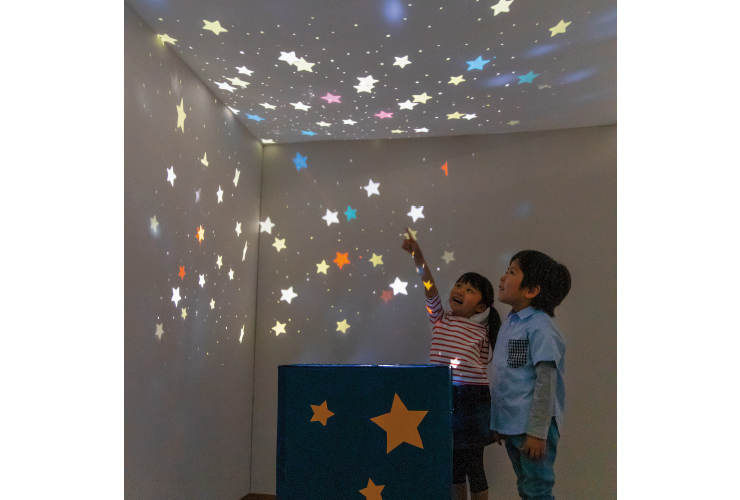 【たなばた】保育室を星空に! 手作りプラネタリウム